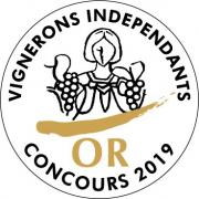 Medaille d or vigneron independant 2019